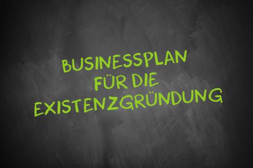 Businessplan für die Existenzgründung