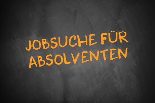 Jobsuche für Absolventen