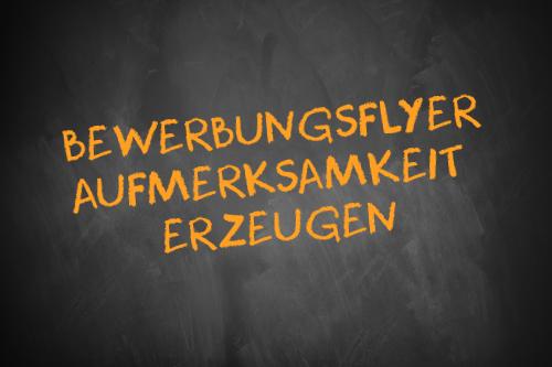 Bewerbungsflyer