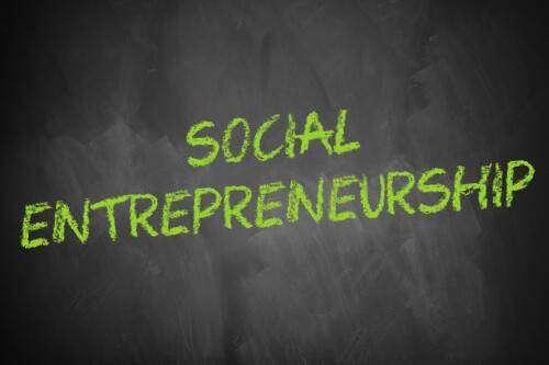 Social Entrepreneurship - Schriftzug