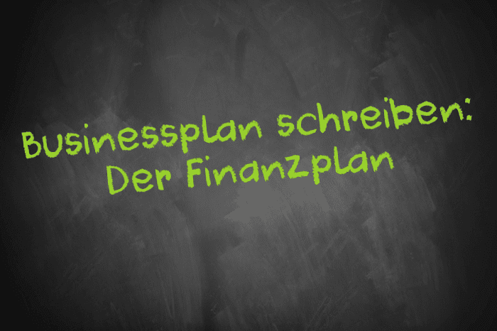 German translation of 'business plan'